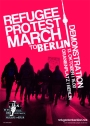 Refugee Protest march