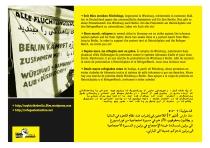 Soliparty für den Refugee-March - Montag 24.9 ab 20h