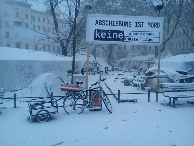 Dec.2012 - Refugee Protest Camp am O-platz