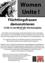 Flyer womendemo