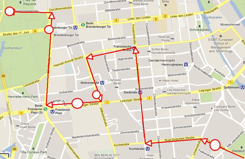 2013 03 22 Stadtplan Route End