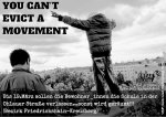 YOU CANT EVICT A MOVEMENT