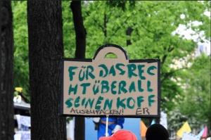 most favorite signboard of Schlafplatzorga