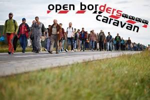 Open borders caravan