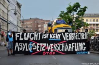 Gegen Asylrechtsverschärfungen!